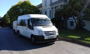 Dublin minibus hire