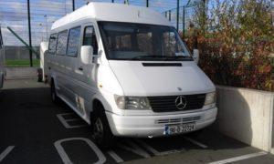 18 seater Rental Minibus Hire Dublin Airport