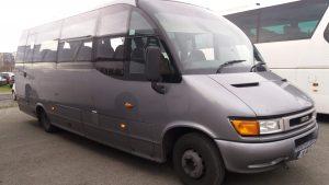 24 Seater Minibus for Hire Dublin